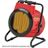 15  Off Weekend Clarke Devil 7003 3kW Industrial  Electric Fan Heater  230V