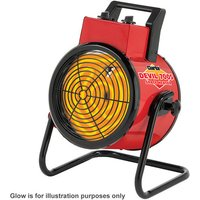 New Clarke Devil 7005 5kw Industrial Electric Fan Heater