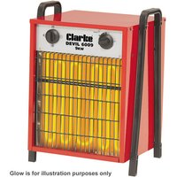 Clarke Clarke Devil 6009 Industrial Electric Fan Heater  400V