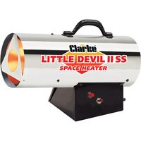 Click to view product details and reviews for Clarke Clarke Little Devil 2 Ss Stainless Steel Propane Fired Space Heater.