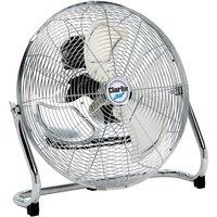 "Clarke Clarke CFF18C100 18"" High Velocity Chrome Floor Fan"