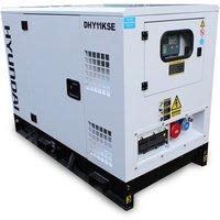 Hyundai Hyundai DHY11KSE 11kVA 3 Phase Diesel Generator 230V   400V