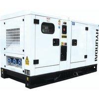 Hyundai Hyundai DHY22KSE 22kVA 3 Phase Diesel Generator 230V