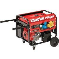 Clarke Clarke PG6500DVES 5.5kVA 230V/115V Dual Voltage Petrol Generator