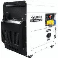 Hyundai Hyundai DHY8000SELR 7 5kVA Diesel Generator 110V   230V