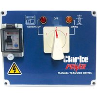Clarke Clarke Manual Mains Changeover Switch for KC6 & KC10 Diesel Generators