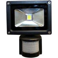 Machine Mart Xtra Nightsearcher EcoStar 10W 100 240V LED Floodlight With PIR