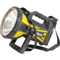 Dark Nights Clarke RWL10 Quartz Halogen Spotlight with Built in Fluorescent Work Light