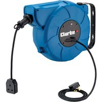 Clarke Clarke CCR15T 15 Metre 230V Retractable Cable Reel
