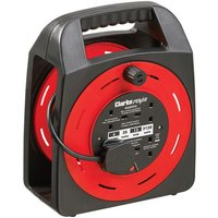 Clarke Clarke CCR25SE 4 Socket 25m Cable Reel With Thermal Cut Out  230V