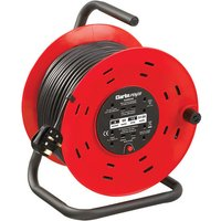Clarke Clarke CCR50 4 Socket 50m  Cable Reel With Thermal Cut Out  230V
