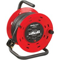 Clarke Clarke CCR26 230V 4 Socket 25m 2 52mm Cable Reel With Thermal Cut Out