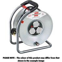 Machine Mart Xtra Brennenstuhl H05VV F 3G1 5 Super Solid S 50m Cable reel  Black