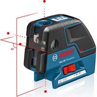Machine Mart Xtra Bosch GCL 25 Professional Point Laser, Universal Holder & L-BOXX