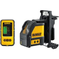 Machine Mart Xtra DeWalt DW088KD - 2 Way Self Levelling Cross Line Laser & DE0892 Detector