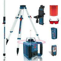 Machine Mart Xtra Bosch GRL 300 HV Professional Rotation Laser,Measuring Rod & Tripod