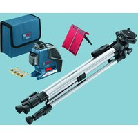 Bosch Bosch GLL 3-80 P Professional 3 Line Laser + BS 150 Professional Building Tripod