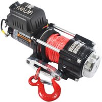 Warrior Winches Warrior Ninja 1134 Kg 24v Dc Synthetic Rope Winch
