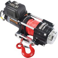 Warrior Winches Warrior Ninja 1588 Kg 12v Dc Synthetic Rope Winch