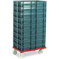 Machine Mart Xtra Barton Storage 88880-01PP/6412 Euro Container Dolly With 9 x 22ltr Containers