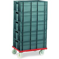 Machine Mart Xtra Barton Storage 88880-01PP/6420 Euro Container Dolly With 5 x 40ltr Containers