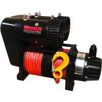 Winch Solutions Warrior Predator 10000 4546kg 12V Dual Performance Winch (With Synthetic Rope)