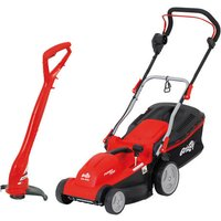 Grizzly Grizzly ERM1637G Electric Lawnmower & ERT 230 Electric Lawn Trimmer