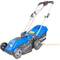 Hyundai Hyundai HYM3800E Electric 1600W / 230V 38cm Rotary Rear Roller Mulching Lawnmower