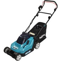 Makita Makita DLM382PG2 Lawn Mower 38cm (with 2 x 6.0Ah Batteries and DC18RD Twin Port Charger)