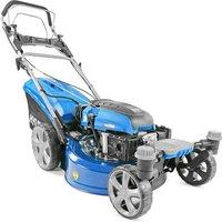 Hyundai Hyundai HYM510SPEZ 51cm Petrol Lawn Mower -  Self Propelled Zero-Turn Ultra Low Cut Electric Start