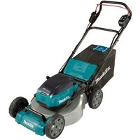 Makita Makita DLM530PG2 53cm Lawn Mower - Steel Deck with 2 x 6.0Ah Batteries and DC18RD Twin Port Charger)