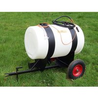Machine Mart Xtra SCH 180 Litre Towed Water Cart With Pump Discharge