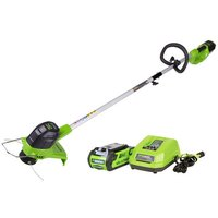 Greenworks Greenworks GWG40LTK2 40V Line Trimmer with 2Ah Battery & Charger