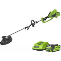 Greenworks Greenworks GWGD40BCK2 40V 2 in 1 Trimmer with 2Ah Battery and Charger