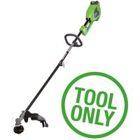 Greenworks Greenworks GWGD40BC 40V Brushless 2 in 1 Trimmer (Bare Unit)