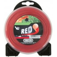 Machine Mart Xtra Oregon Red Round Trimmer Line - 3.0mm x 225m