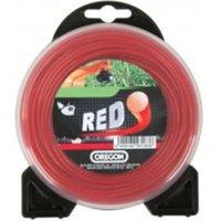 Machine Mart Xtra Oregon Red Round Trimmer Line - 2.4mm x 83m