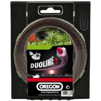 Machine Mart Xtra Oregon Duoline Plus Low Noise Trimmer Line - 1.6mm x 15m