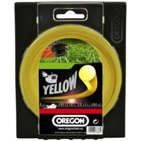 Machine Mart Xtra Oregon Yellow Round Trimmer Line - 2.0mm x 15m