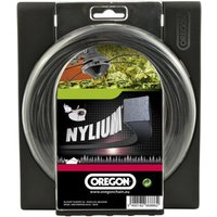 Machine Mart Xtra Oregon 4.0mm x 22m Square Nylium Strimmer Line
