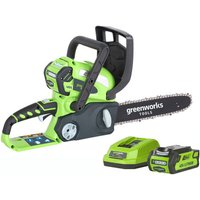 Greenworks Greenworks GWG40CS30K2 40V 300mm Chainsaw with 2Ah Battery and Charger