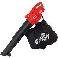 New Grizzly ELS2614E 2600Watt Electric Leaf Blower Vacuum  230V