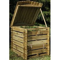Forest Forest 86x74x74cm Beehive Composter