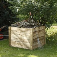 Forest Forest 120x103x103cm Slot Down Composter