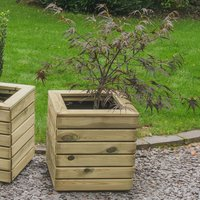 Forest Forest 40x40cm Linear Square Planter