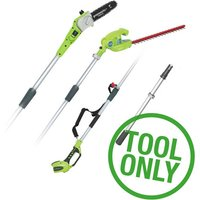 Greenworks Greenworks G40PSH 40V Long Reach Hedge Trimmer & Pruner (Bare Unit)