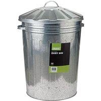 Draper Draper 85L Galvanised Dust Bin
