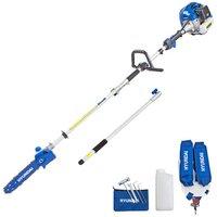 Hyundai Hyundai HYPS5200X 52cc Long Reach Petrol Pole Saw/Pruner/Chainsaw