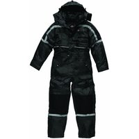 Dickies Dickies Black Padded Waterproof Overall (Medium)