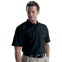 Dickies Dickies Short Sleeved Polo Shirt Black - L
